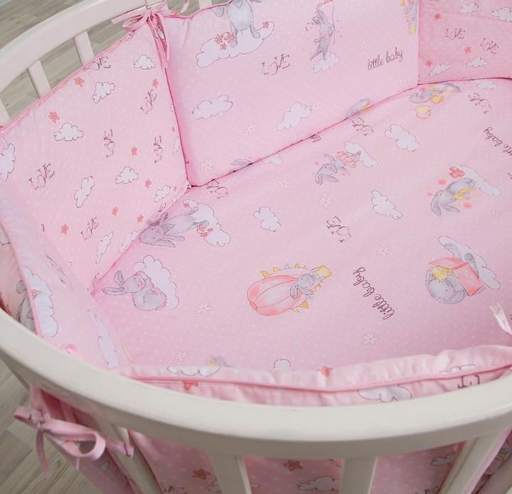 Комплект в кроватку 6 предметов Pituso универсальный подушки Лапочка