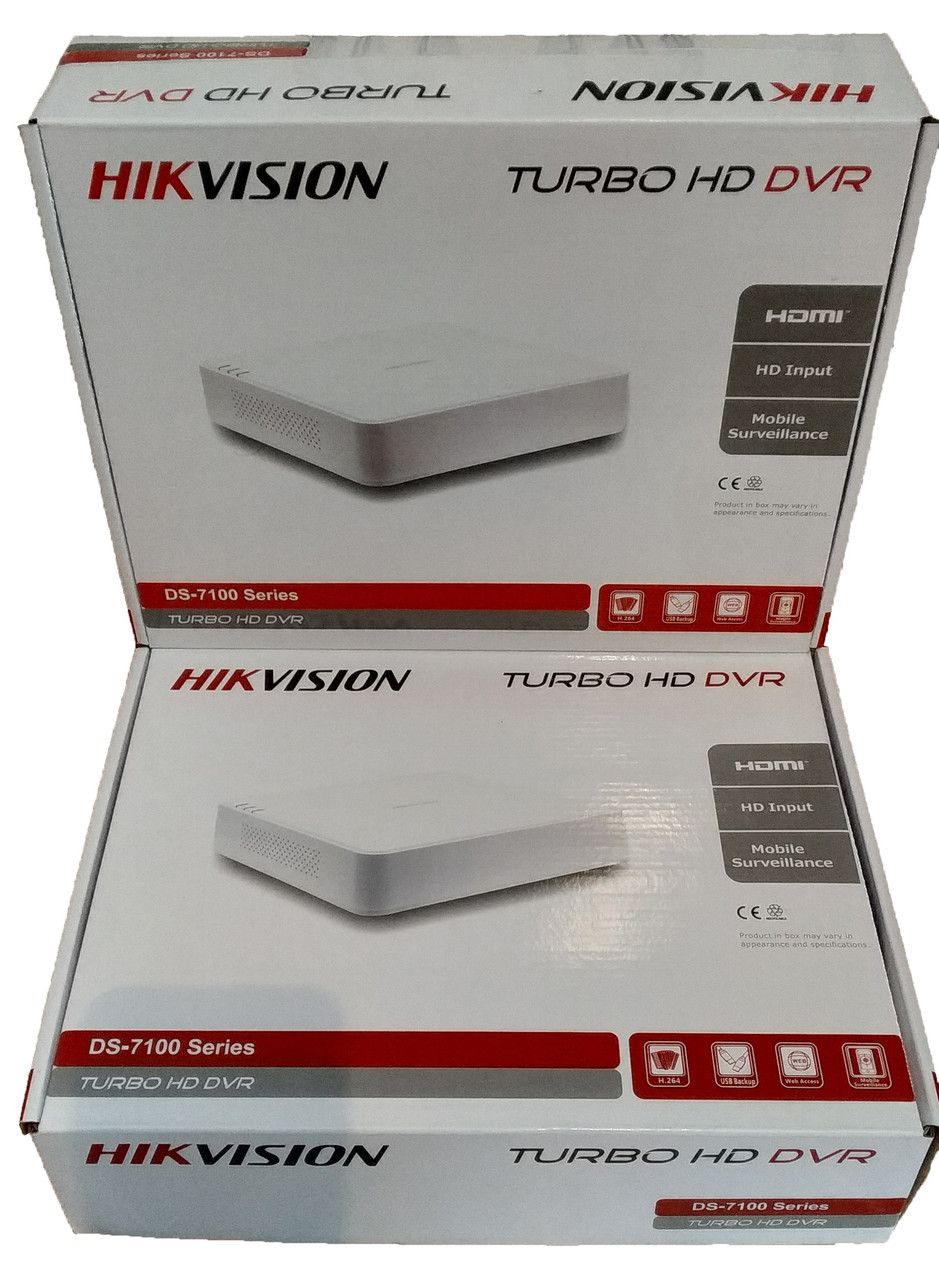 Видеорегистратор HIKVISION  TURBO HD DVR  8 канальный