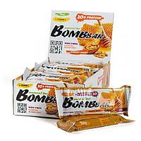 Протеиновый батончик BombBar Грецкий орех с мёдом, 60г.