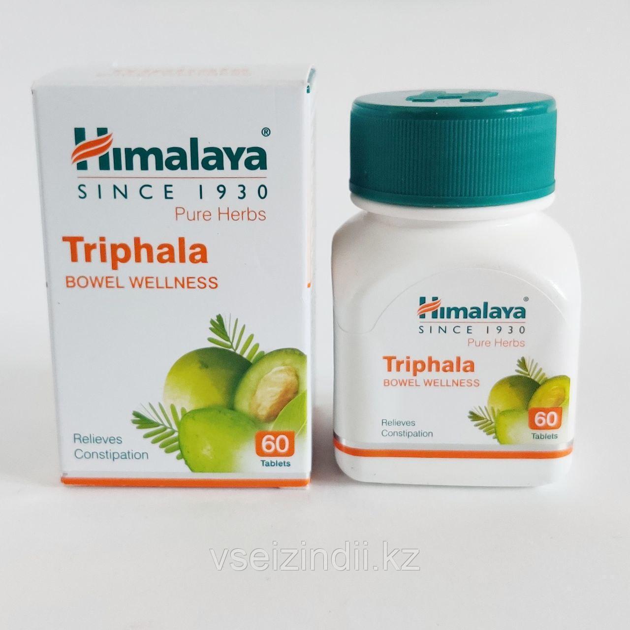 Трифала, Гималаи (Triphala, Himalaya). Очищение организма. 60 таблеток