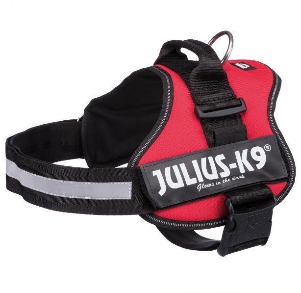 Шлейка. Julius-K9® шлейка для собак, 2/L–XL: 71–96 cm/50 mm, burgundy