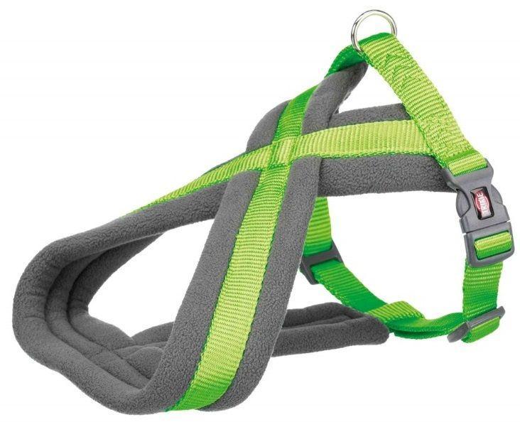 Шлейка. Premium шлейка для собак, M: 45–80 cm/25 mm, apple