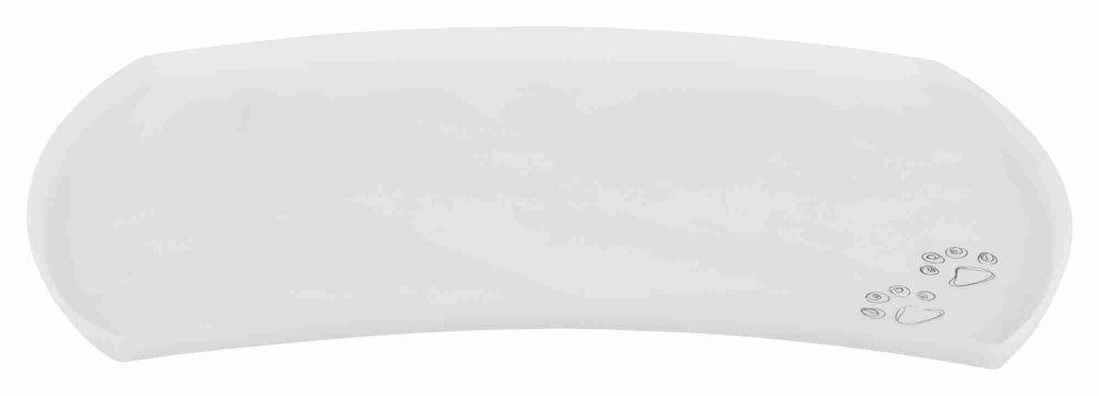 Коврик под миску Trixie, силикон, серый - 48 × 27 cm