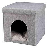 Лежак-пещера Trixie Alois для кошек - 38 × 40 × 38 cm