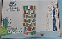 Игра настольная Башня  с этажами и цилиндрами