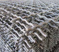 Сетка 3х3х1.6 Р3-1.6 ГОСТ 3306-88 1750х4500 для грохотов рифленая стальная канилированная сталь 45 50 55