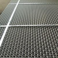 Сетка 40х40х5 Р40-5 ГОСТ 3306-88 1750х4500 для грохотов рифленая стальная канилированная сталь 45 50 55