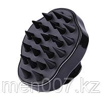 Силиконовая щетка для выпрямления волос и массажа головы (массажка)