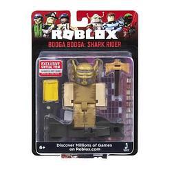 Roblox ROB0304 Фигурка героя Booga Booga: Shark Ride (Core) с аксессуарами