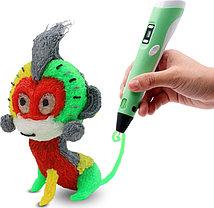 Ручка для рисования 3D PEN 2 поколения с LCD дисплеем, фото 3