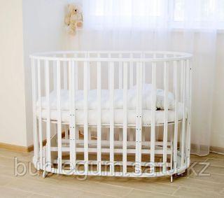 Кровать детская универсальная СКВ-12, белый 12 в 1