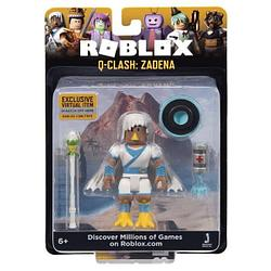 Roblox ROG0162 Фигурка героя Q-Clash: Zadena (Core) с аксессуарами