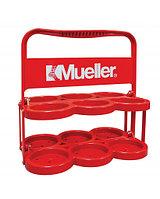 Пластиковый контейнер для бутылок Mueller Красный