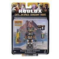 Roblox ROG0163 Фигурка героя Cats...IN SPACE: Sergeant Tabbs (Core) с аксессуарами