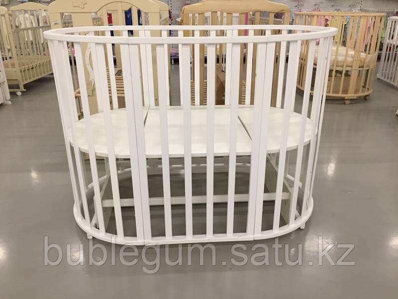 Кровать детская универсальная СКВ-10,белый