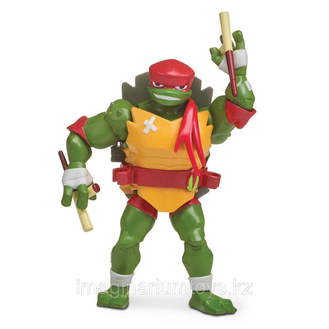 Игрушка Черепашки-ниндзя Фигурка Рафаэль с боевым панцирем 12 см
