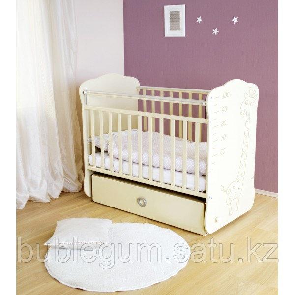 Кроватка детская СКВ-4 Жираф с ростомером маятник