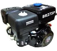 BR275P BRAIT Двигатель 4-х тактный 9.0 л.с, шкив 25 мм, длина вала 71 мм