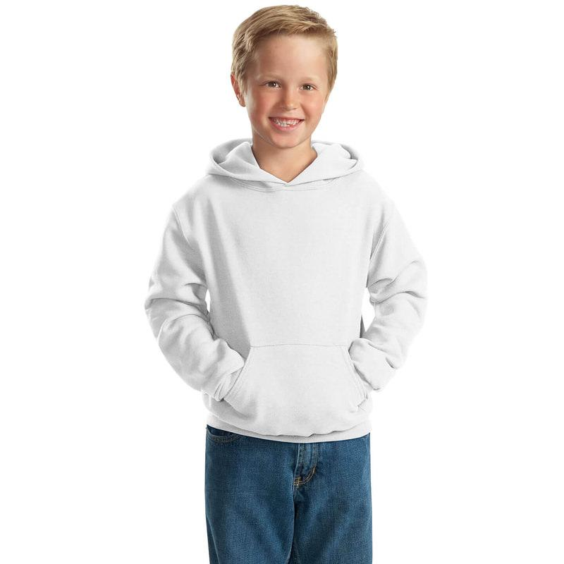 "Худи для сублимации ""Fashion kid"" ФУТЕР  ПРЕМИУМ ПЛЮС, цвет белый, р-р: 32"