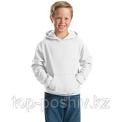 "Худи для сублимации ""Fashion kid"" ФУТЕР  ПРЕМИУМ ПЛЮС, цвет белый, р-р: 32(122)"