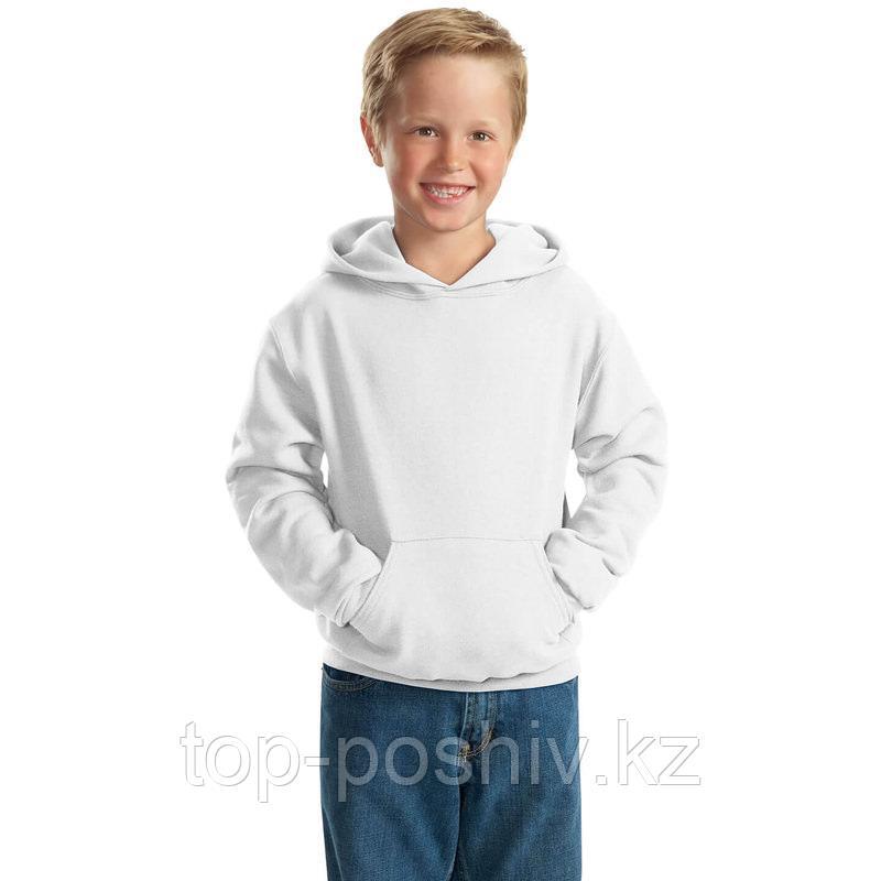 "Худи для сублимации ""Fashion kid"" ФУТЕР  ПРЕМИУМ ПЛЮС, цвет белый, р-р: 34"