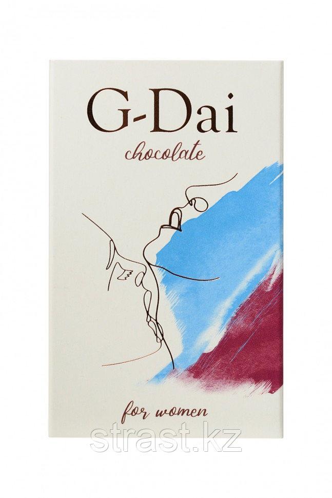 Возбуждающий темный шоколад G-Dai for women 15 г