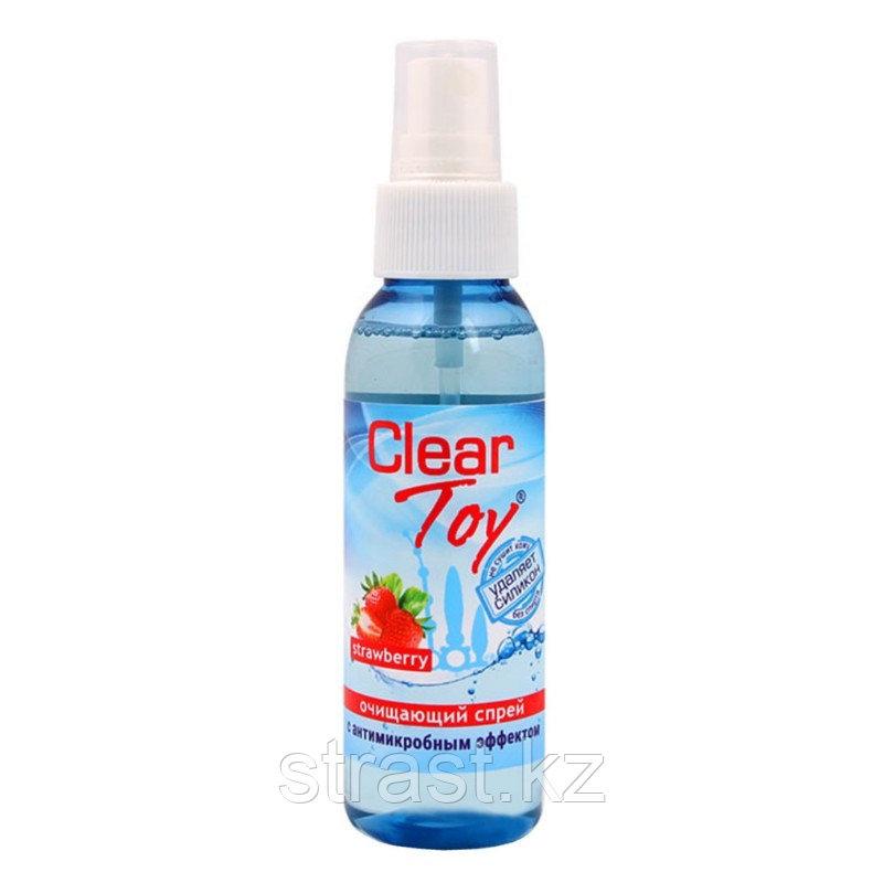 Очищающий спрей антимикробный Clear Toy Strawberry, 100 мл