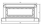DKC Башенка BUS, 12 модулей, белая, фото 4