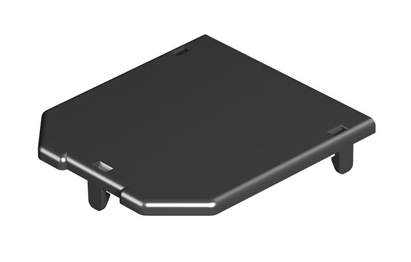 OBO Bettermann Заглушка для монтажной коробки GB2 82.5x76 мм (полиамид,черный)