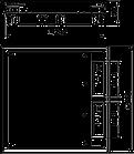 Напольный лючок ОВО BETTERMANN высотой 55 мм, квадратный, фото 2