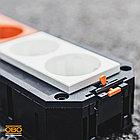 7408723 Монтажная коробка UT3 для установки в лючок с накладкой для 3xModul45 (полиамид,черный) OBO Bettermann, фото 3
