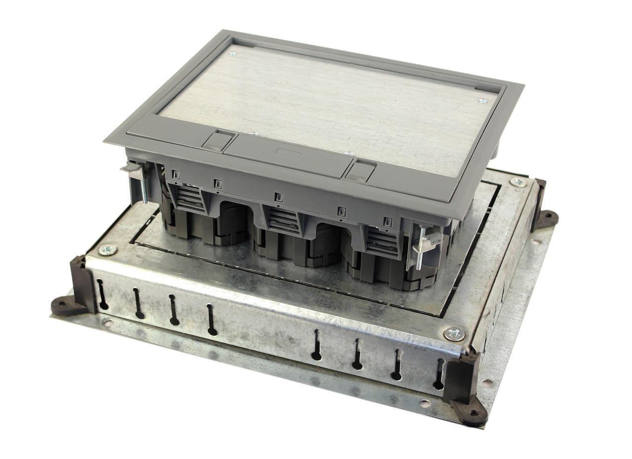Монтажное основание под заливку в бетон, для лючка 7405321, размер 300х350 мм