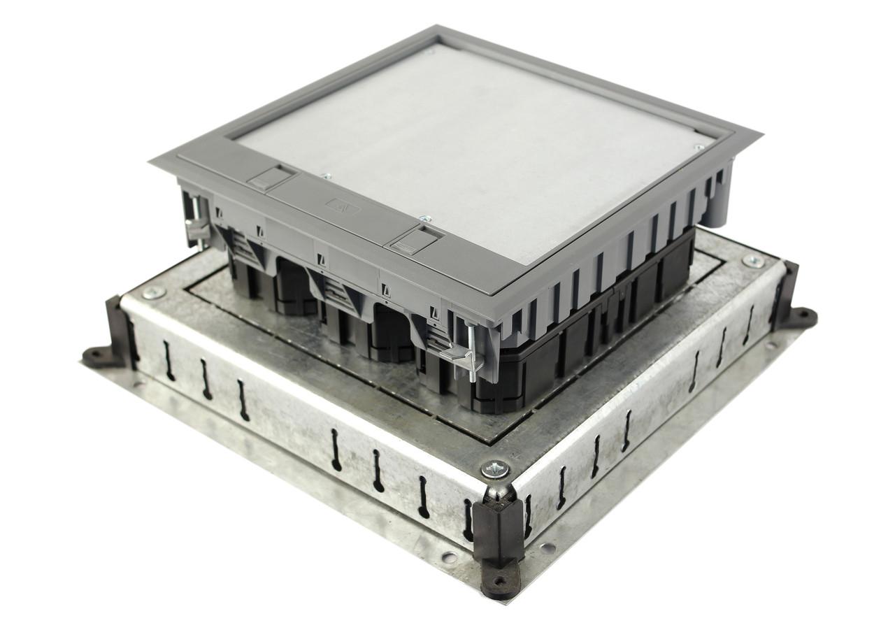 Монтажное основание под заливку в бетон, для лючка 7405083, размер 350х350 мм