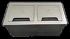 Настольный бокс на 4 (Mosaic 45), серебро, FZ512S, фото 3