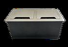 Настольный бокс на 4 (Mosaic 45), серебро, FZ512S, фото 4
