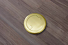 Напольный лючок на 1 модуль Mosaic 45 (45*45) , круглый, цвет золото, HTD-140K, фото 4