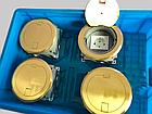 Напольный лючок на 1 модуль Mosaic 45 (45*45) , круглый, цвет золото, HTD-140K, фото 5