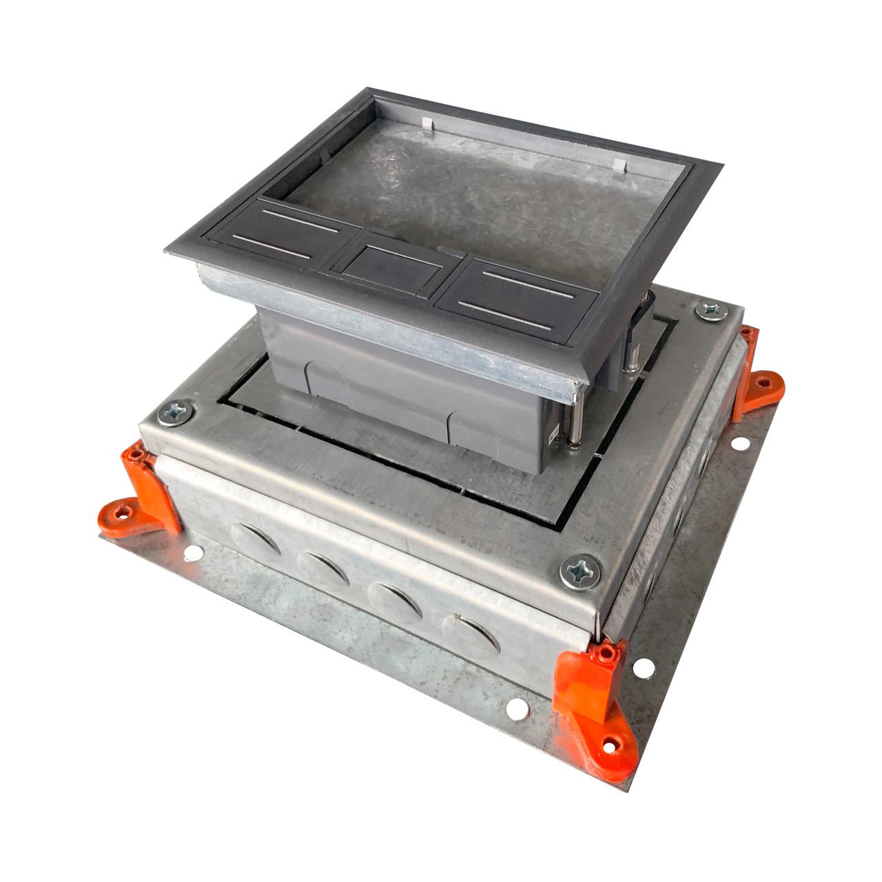 Монтажное основание под заливку в бетон, для лючка HTD-622, размер 255Х230 мм
