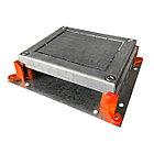 Монтажное основание под заливку в бетон, для лючка HTD-622, размер 255Х230 мм, фото 5