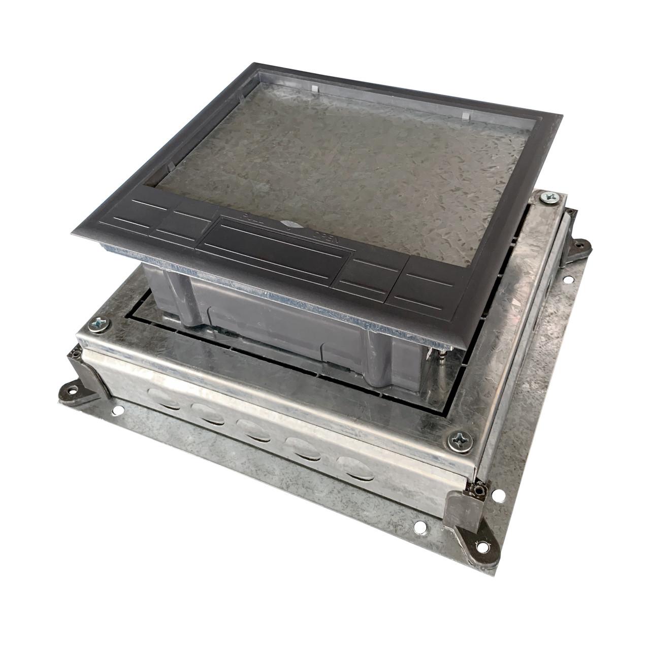 Монтажное основание под заливку в бетон, для лючка HTD-624, размер 330Х310 мм