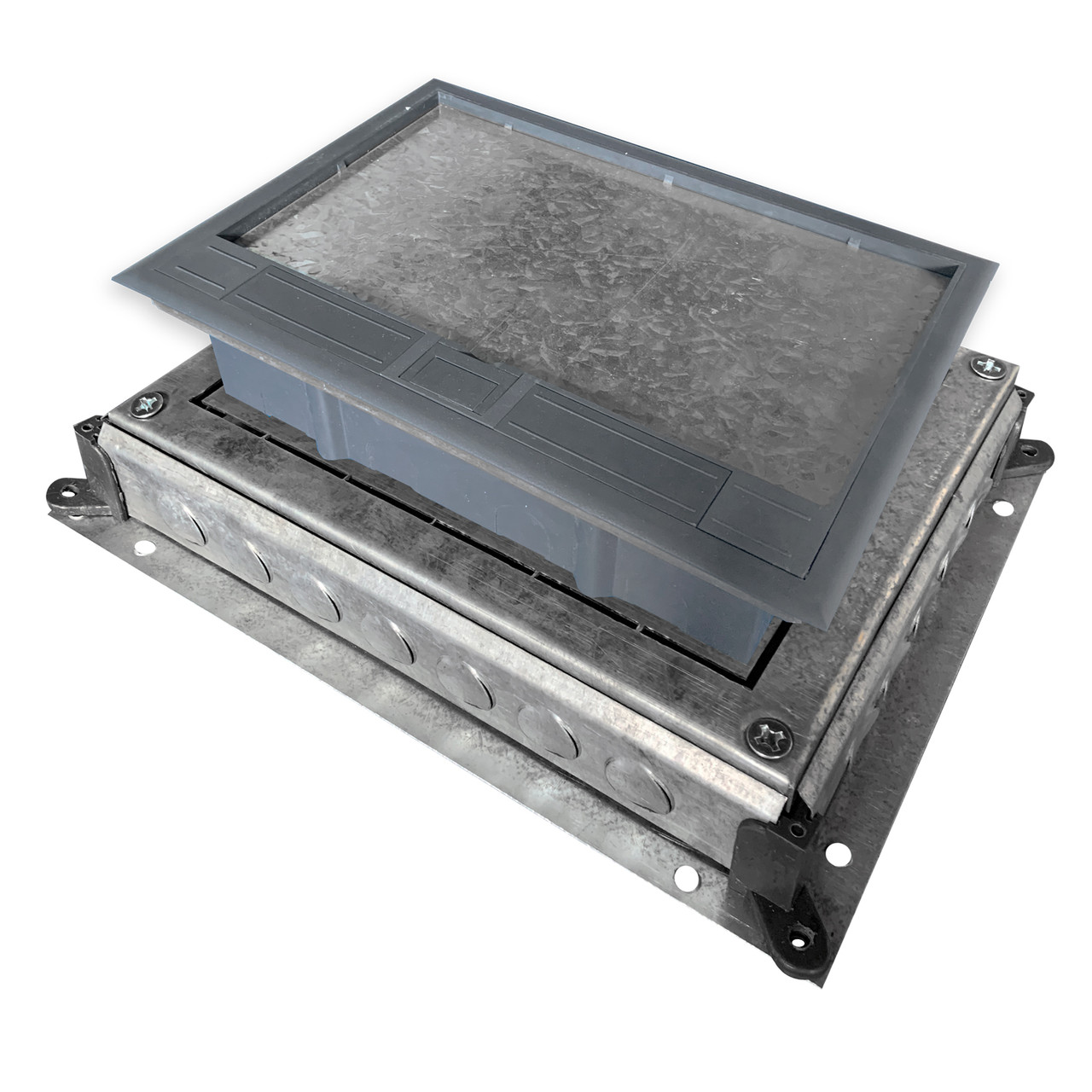 Монтажное основание под заливку в бетон, для лючка HTD-628, размер 410Х315 мм