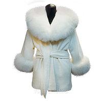 Пальто жакет свадебный
