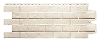 Фасадные панели Молочный 1000x400 мм Состаренный кирпич Grand Line, фото 1
