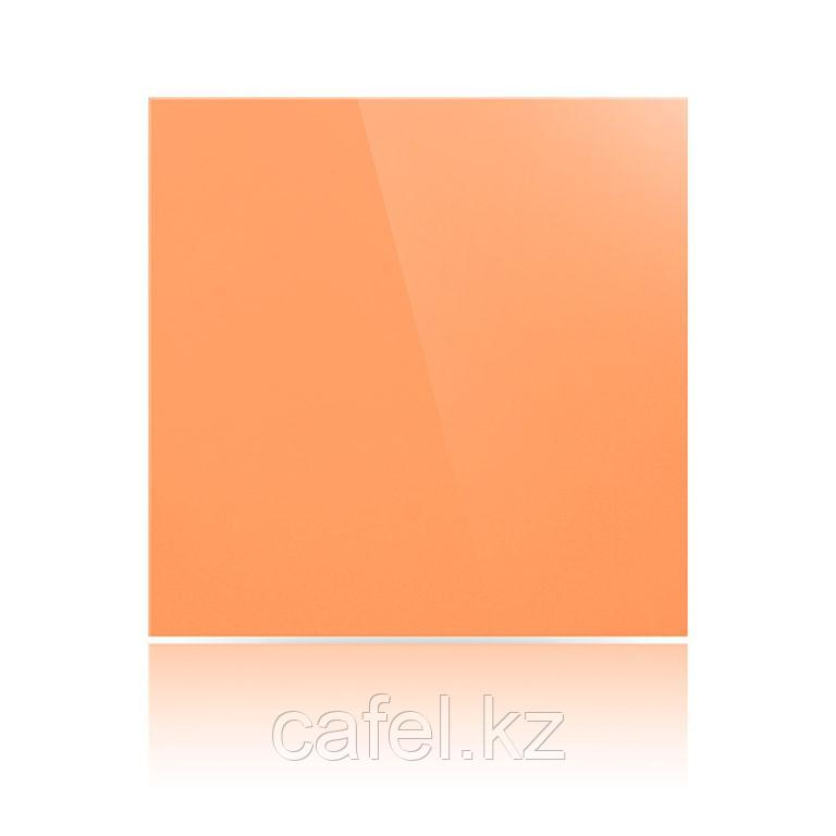 """Керамогранит 60х60 """"UF026 насыщенный оранжевый"""""""