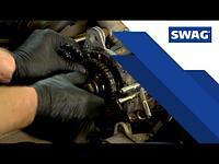 ЦЕПЬ ГРМ разъемная SWAG для MB W202 2.4-5.5 96, MERCEDES-BENZ