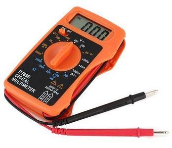 Мультиметр цифровой карманный Digital Tech DT83B с интегрированными щупами