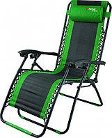 Кресло-шезлонг складное, многопозиционное 160х63,5х109cм Camping// Palisad