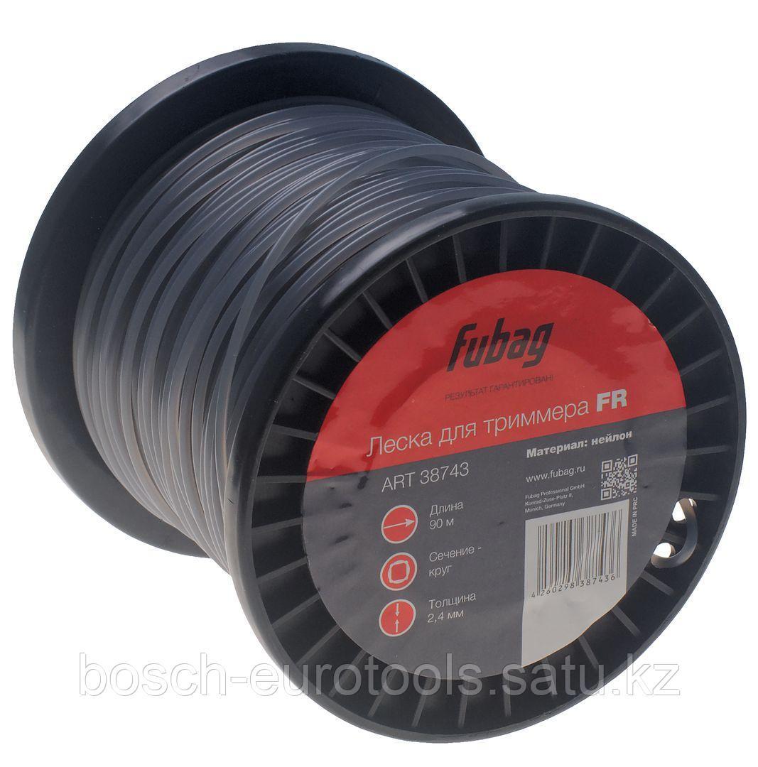 FUBAG Триммерная леска_сечение круглое_L 90 м * 2.4 мм