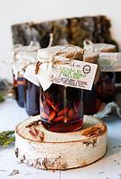 Варенье из сосновой шишки с ореховым ассорти  Грецкий орех, фундук, миндаль, фото 1
