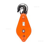 Блок монтажный с крюком TOR HQG(L) K3-10,0 т